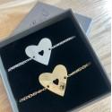 Bracelet Chaîne coeur