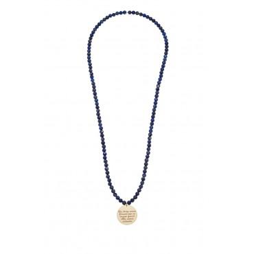 Sautoir Médaille Théo Lapis
