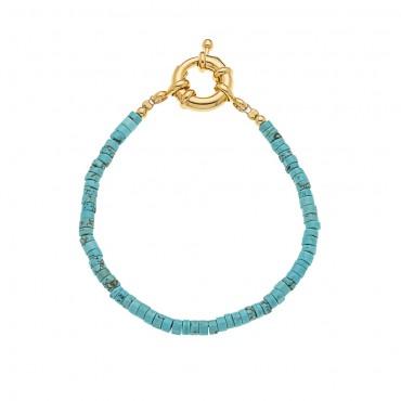 Bracelet St Barth Perles Turquoise