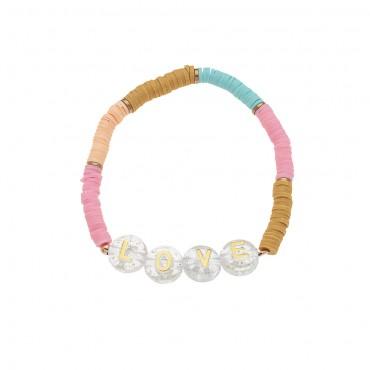 Bracelet Pop Alphabet