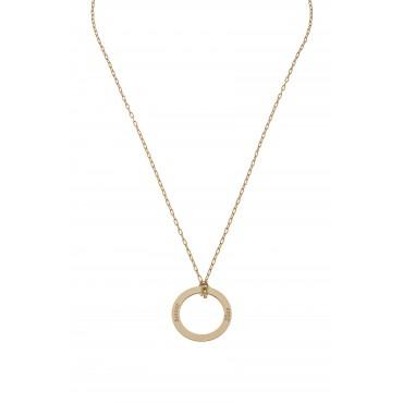 Collier Chaine Médaille Cercle Amour/Love