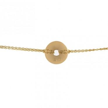 Bracelet Médaille Disque Hugo 1