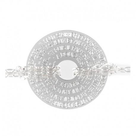 Bracelet Medaille hugo1 pm