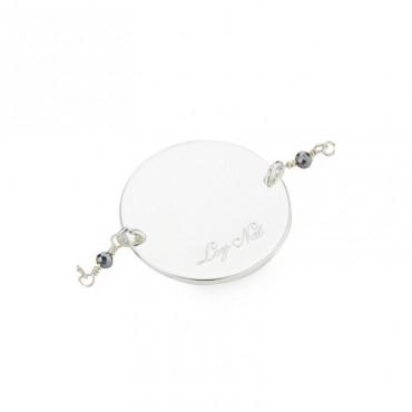 Bracelet chaîne plaque HUGO 2